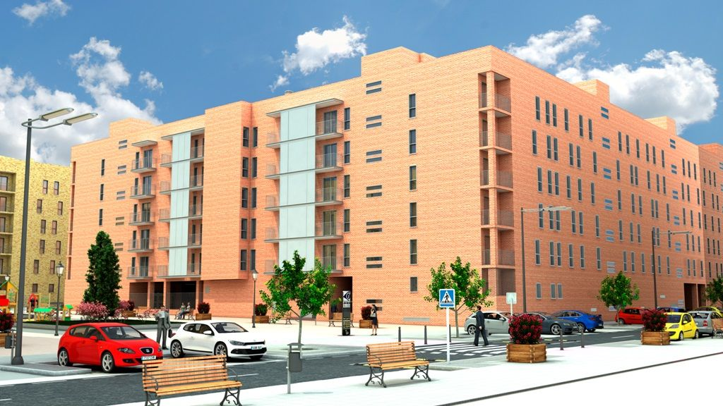 Edificio 96 viviendas (Getafe)
