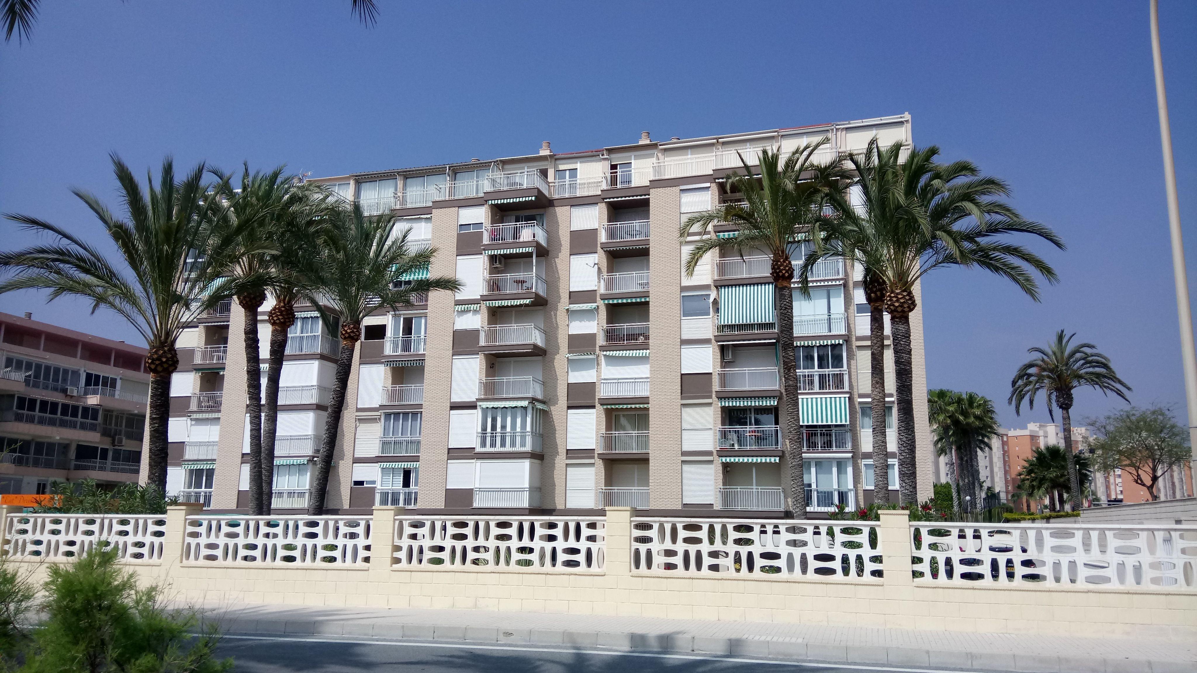 Rehabilitación Edificio de viviendas en San Juan (Alicante)