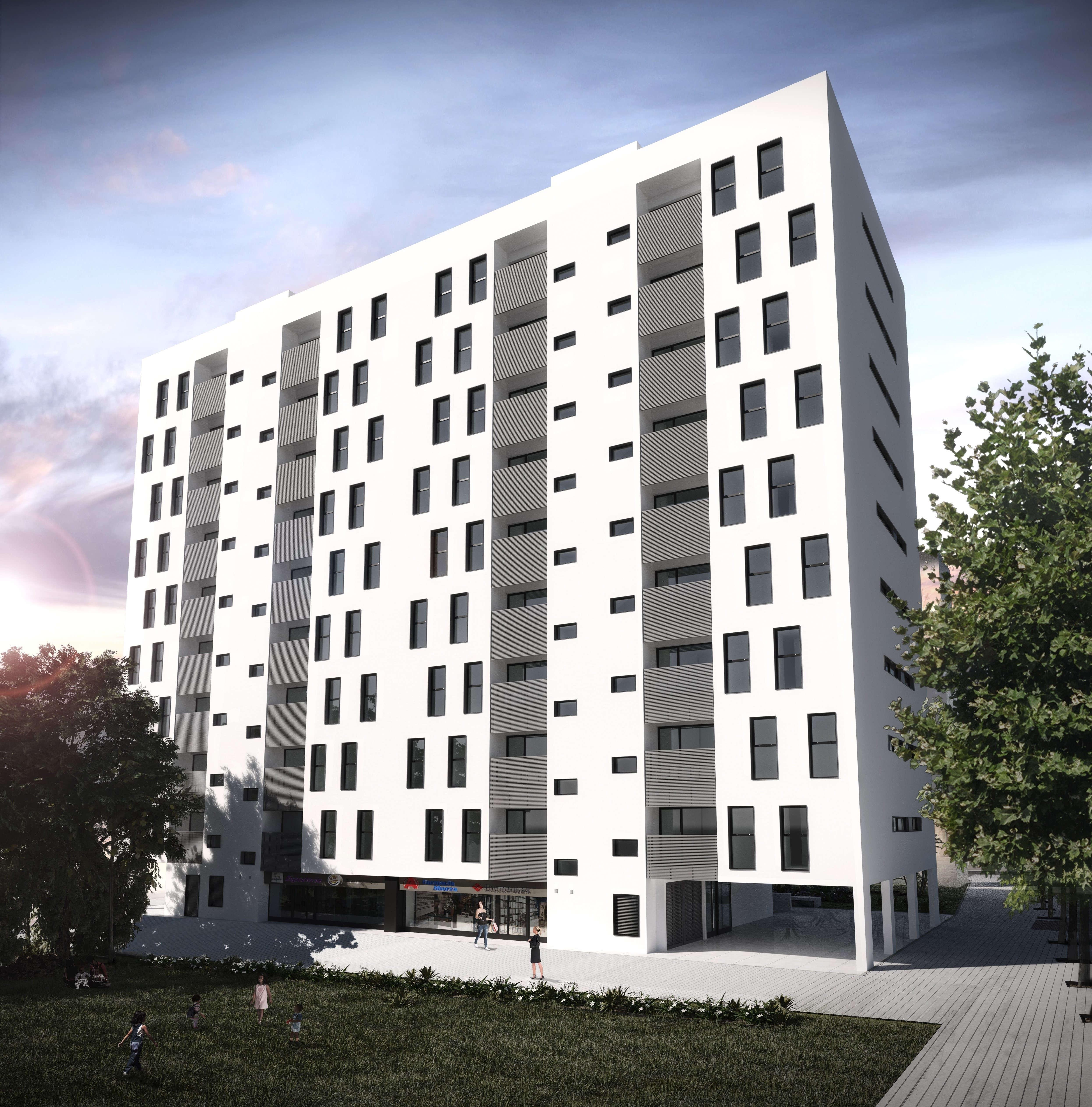 Edificio para 72 viviendas en Elche